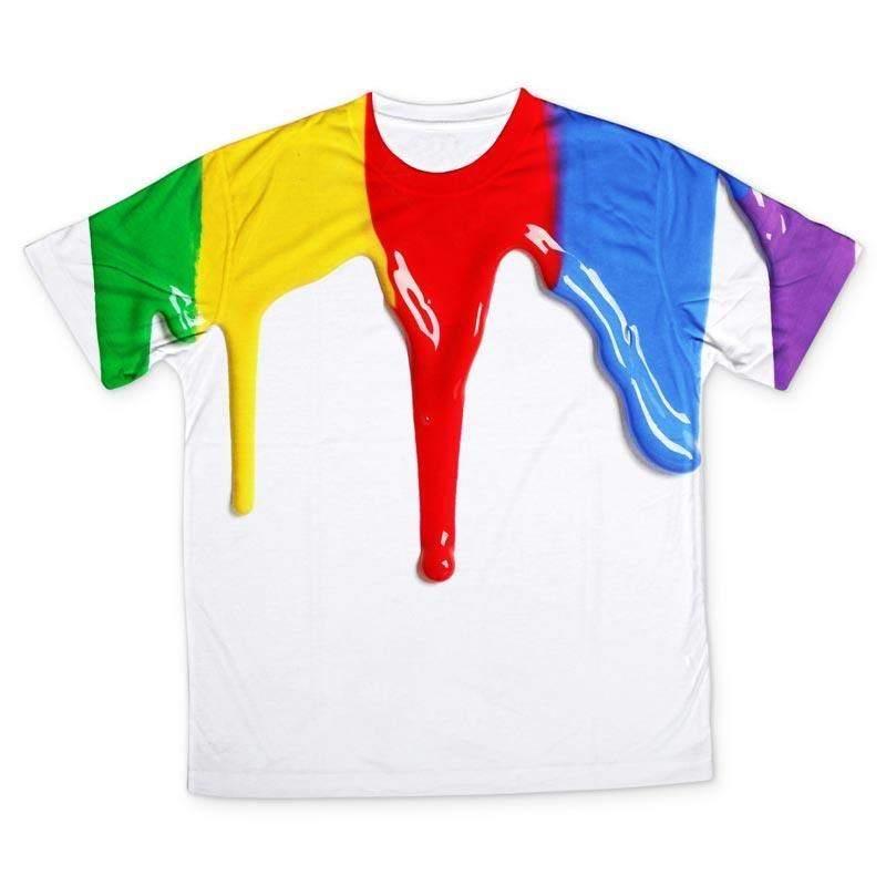 b4e893adf5a Dog tshirt cartoon stripe tshirt printing for kids paint design ...