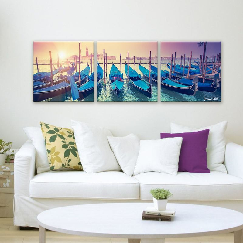 3 canvas art simple triptych canvas prints holiday photo piece canvas art with photos piece art custom made