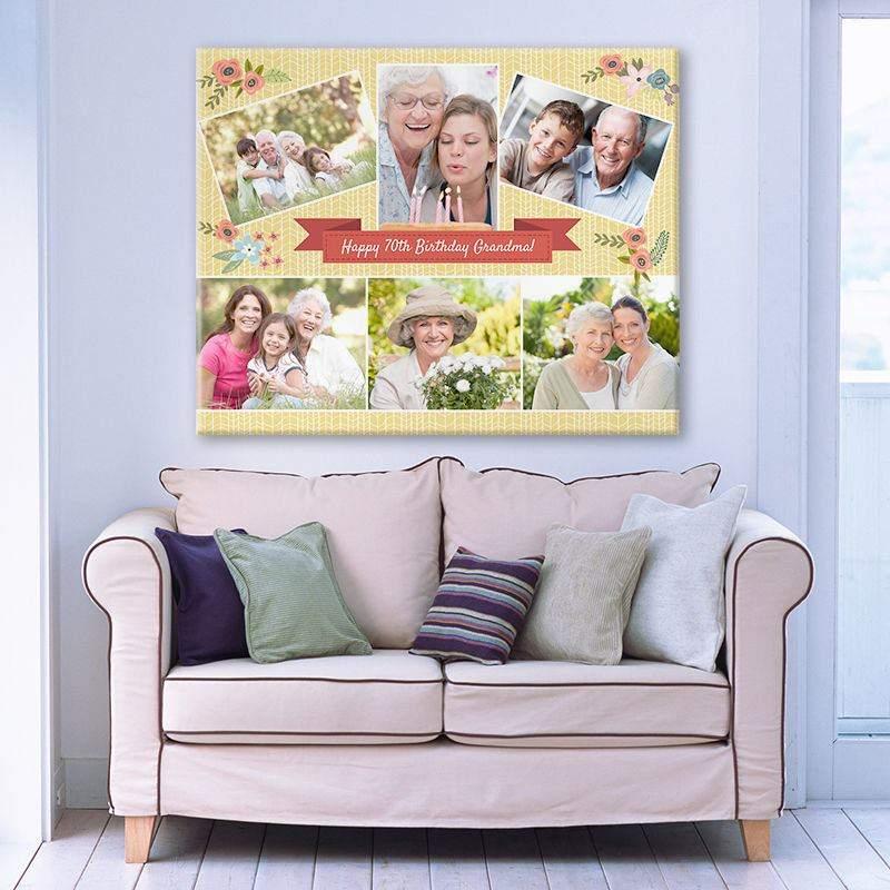 Leinwand Collage Bedrucken Fotocollage Auf Leinwand Drucken Lassen