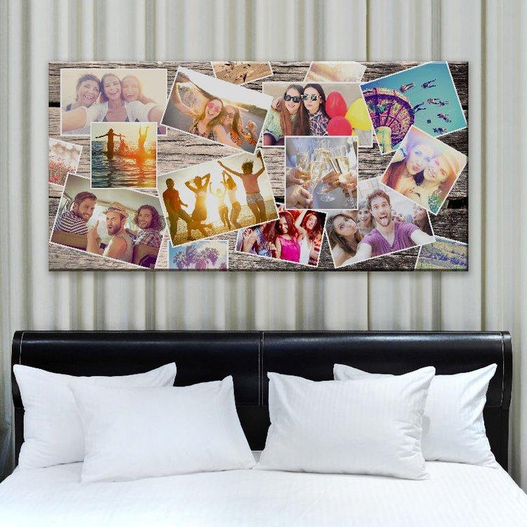 Collage Selbst Gestalten : leinwand collage bedrucken fotocollage auf leinwand ~ A.2002-acura-tl-radio.info Haus und Dekorationen