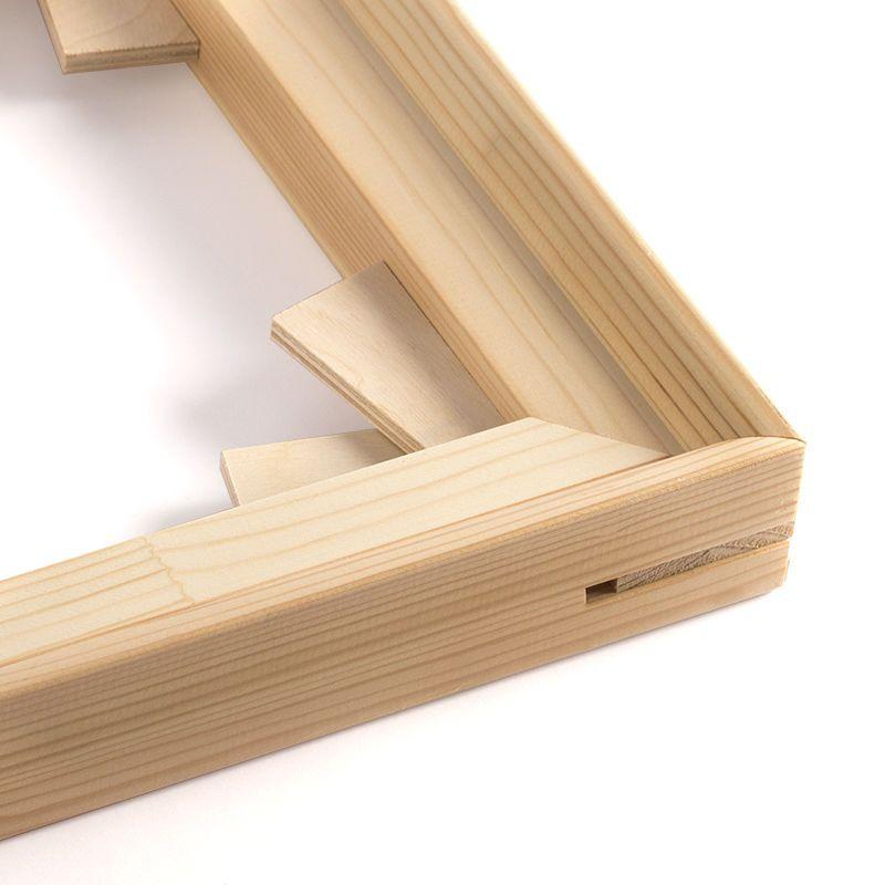 FSC certified wooden stretcher bars