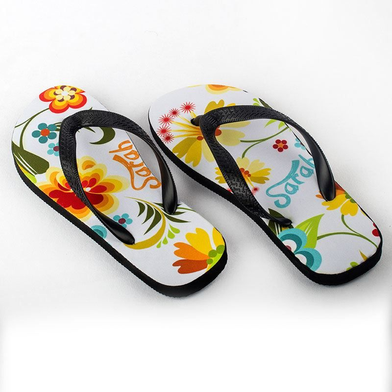 foto slippers met afbeelding