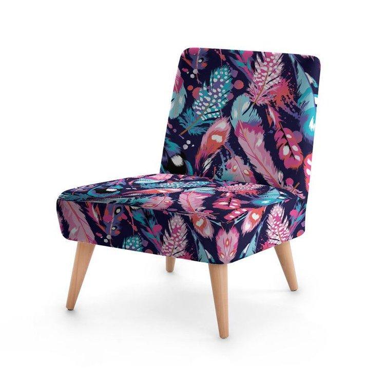 Custom Printed Occasional Chair