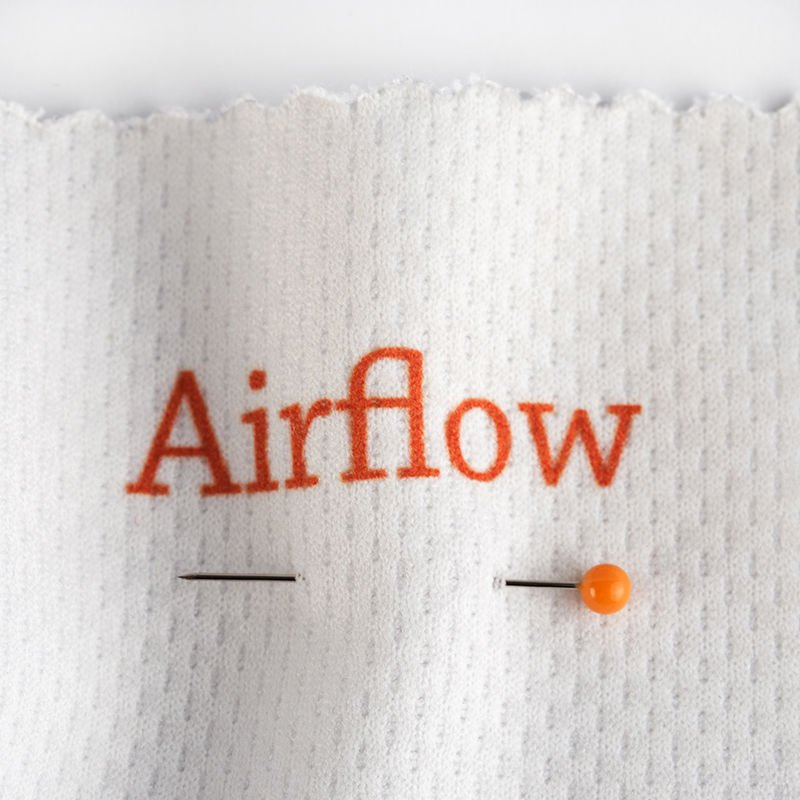 stampa su tessuto traspirante piquet