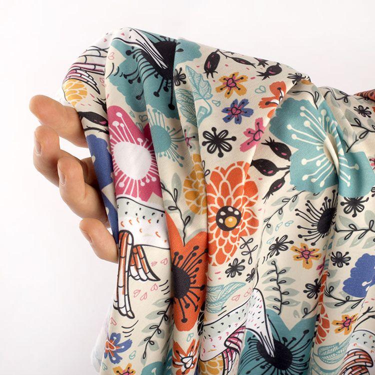 printed clothing fabric