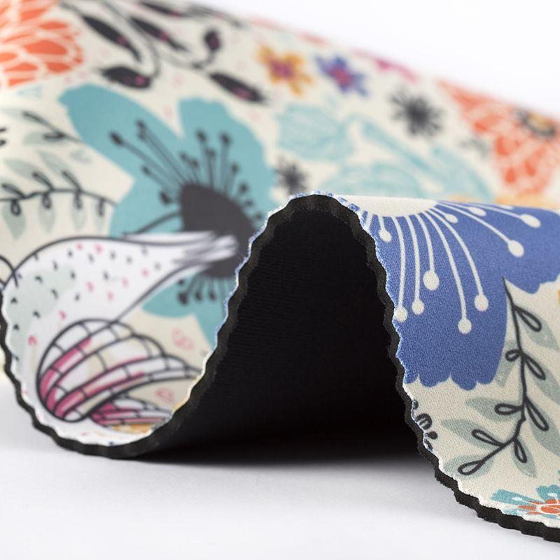 Neoprene digital print fabric pattern