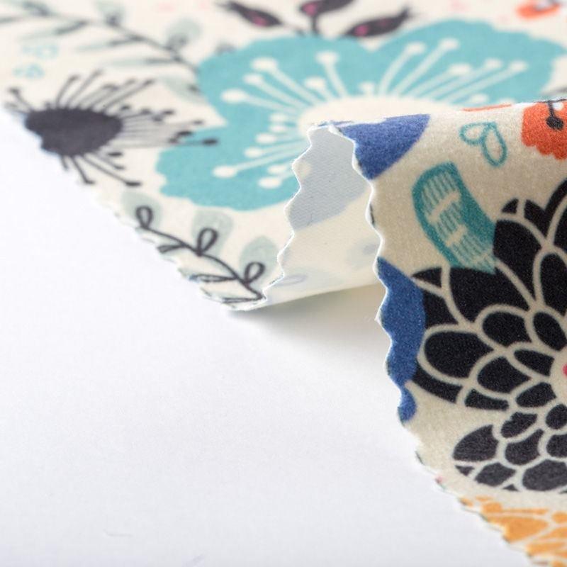 stoffa scamosciata da stampare
