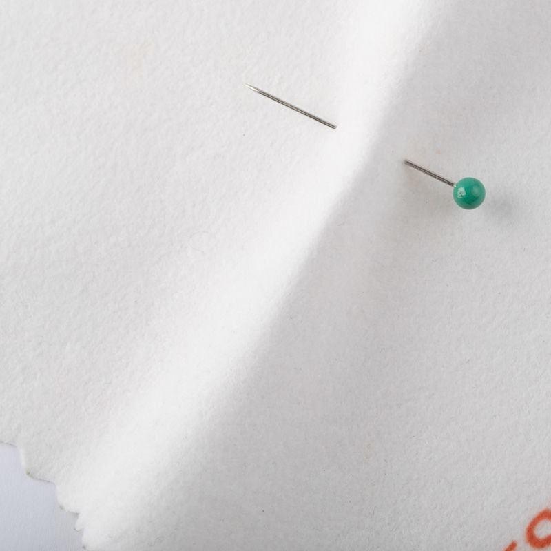 auf Faux Suede Stoff drucken Rückseite pin