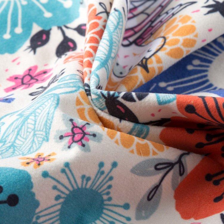 custom printed suede vision fabric