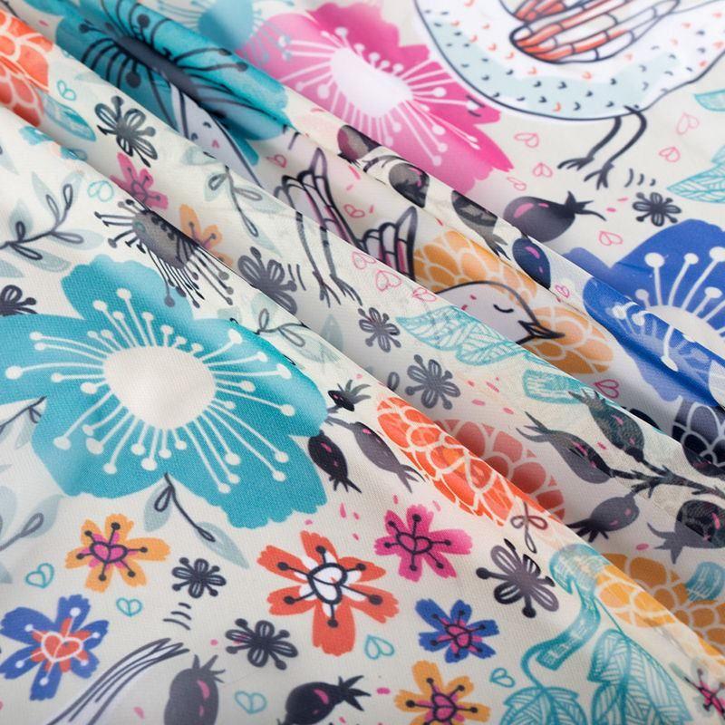 print Paris Chiffon fabric