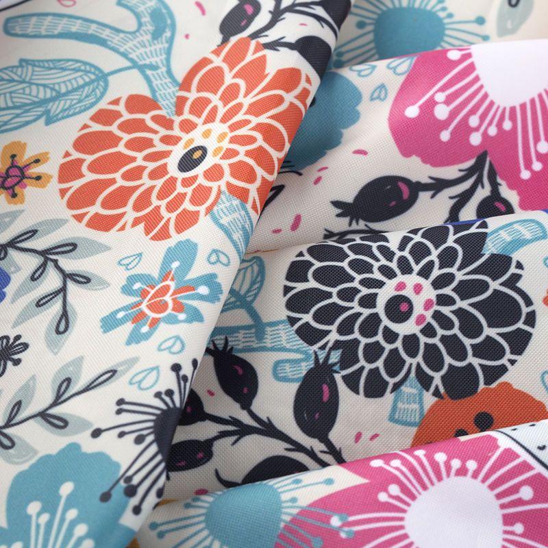 Digitaltryck Linden vattentät textil