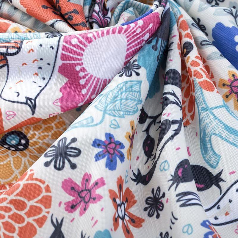 Impresión textil en tela impermeable Linden