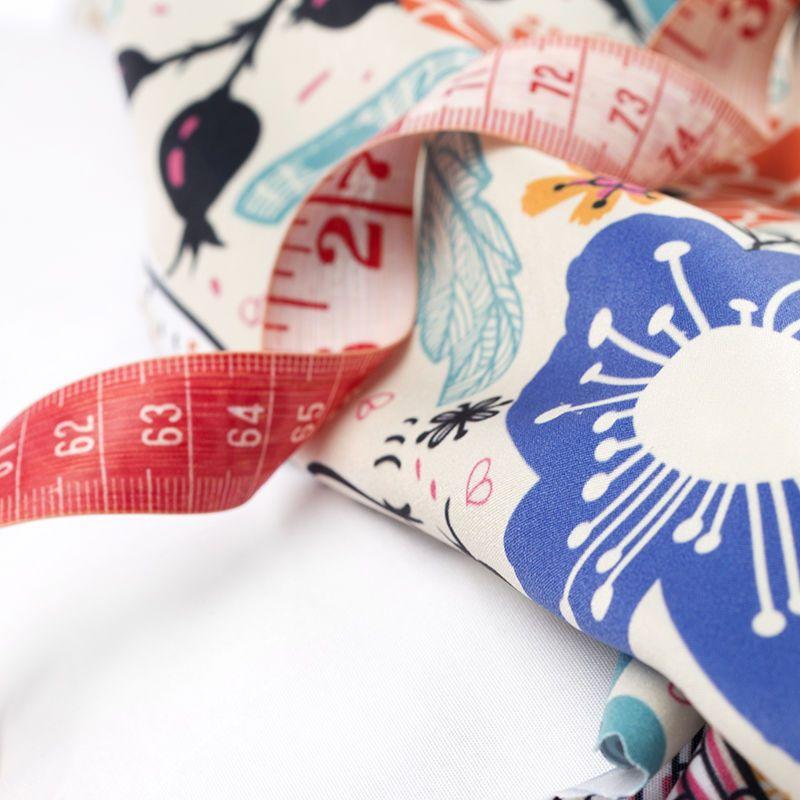 impression sur tissu Polyester aspect coton