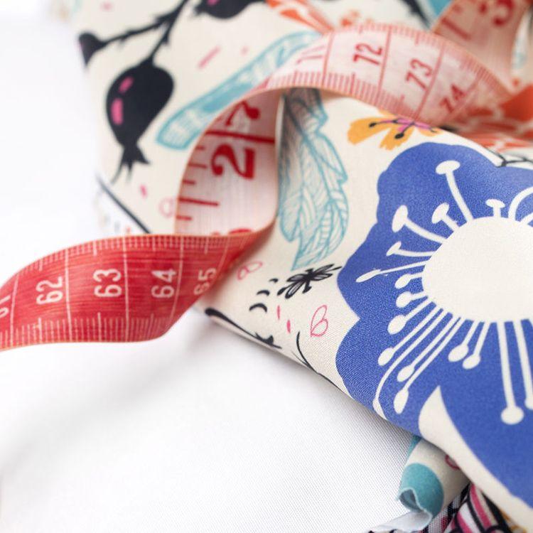 sewing print fabric