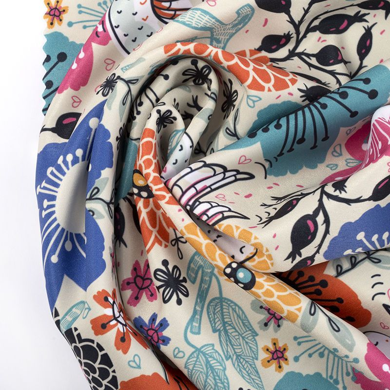 digital Poly printing fabric