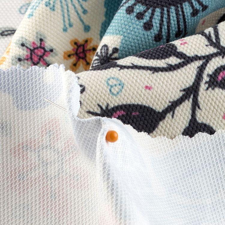 Coton gratté au mètre pour la couture
