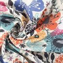 Heavy Jersey Fabric Printing swirl