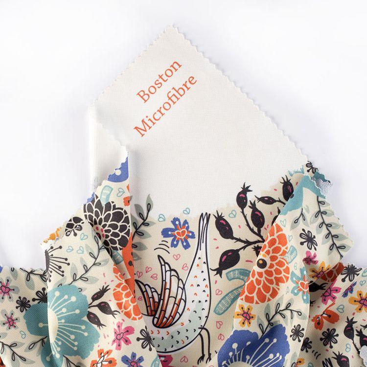 Boston Microfiber Fabric Printing