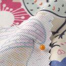 custom print Boston Microfiber fabric