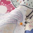 custom print Boston Microfibre fabric