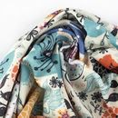 print Crepe Jersey fabric swirl