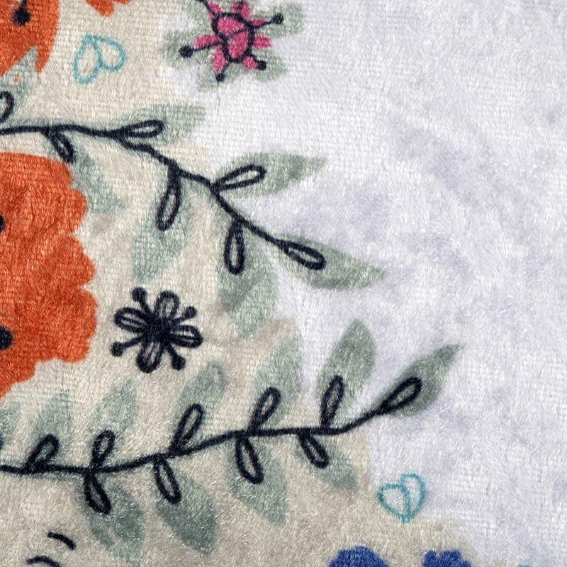 custom Crush Velour fabric detail
