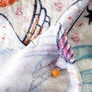 dettagli tessuto velour