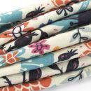 custom made Diamond Jersey fabric folded pleats