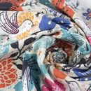 printing Diamond Jersey fabric swirl
