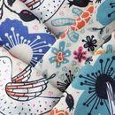 print Diamond Jersey fabric folded pattern