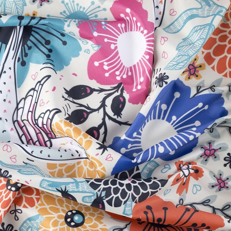 Impresión textil Tela Impermeable Ella