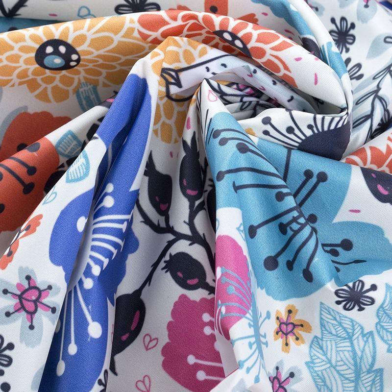 custom Ella Waterproof fabric screwed up