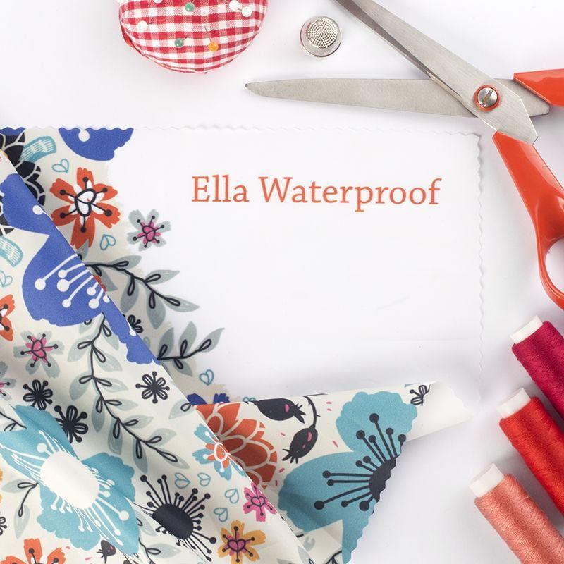 エラ ウォータープルーフ 布印刷