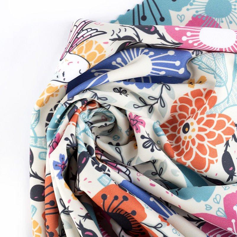 custom Heavy printed lycra fabric
