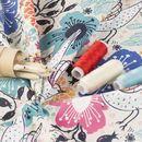 impression sur tissu Popeline de coton Lima