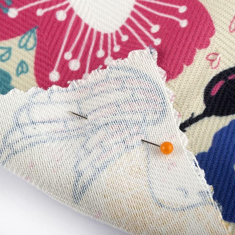 stampa tessile tessuto Herringbone a spina di pesce