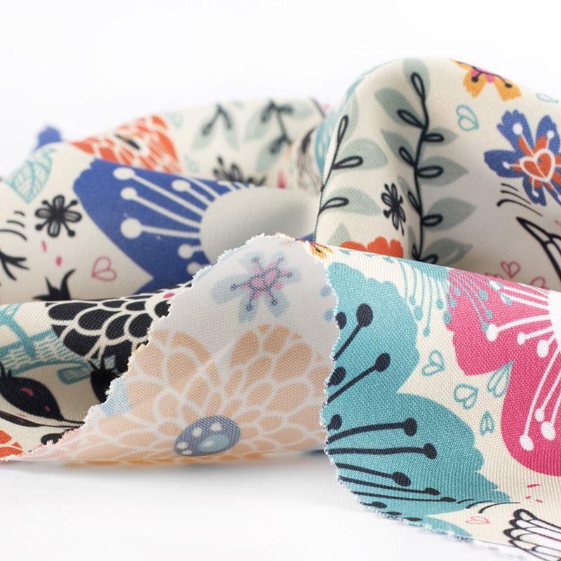 custom print Panama Flo fabric prints
