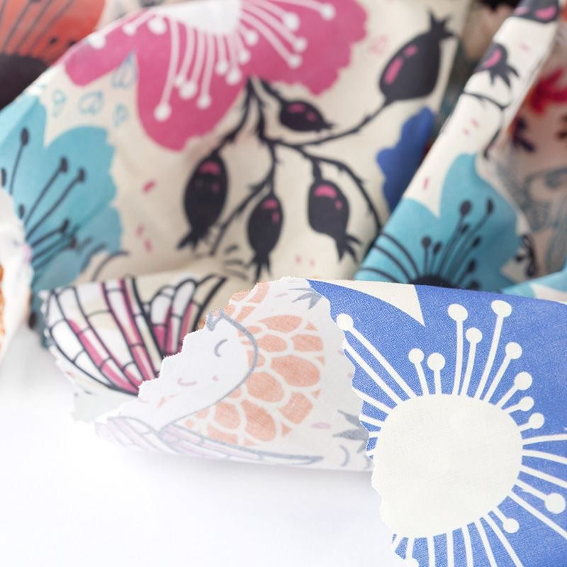 tissu Coton Pima linon imprimé avec votre design