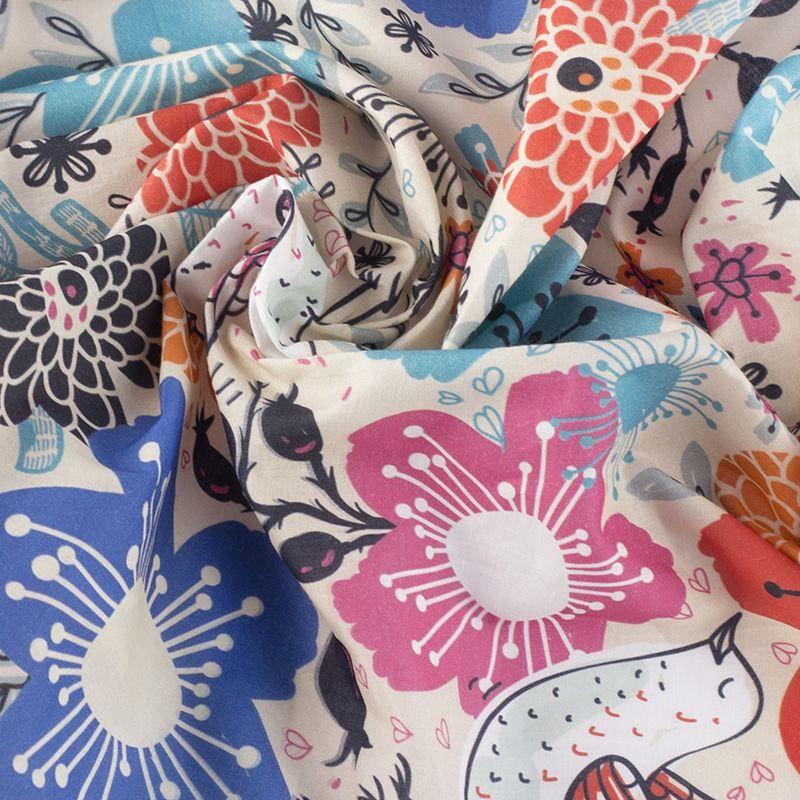 custom Pima Lawn fabric no minimum