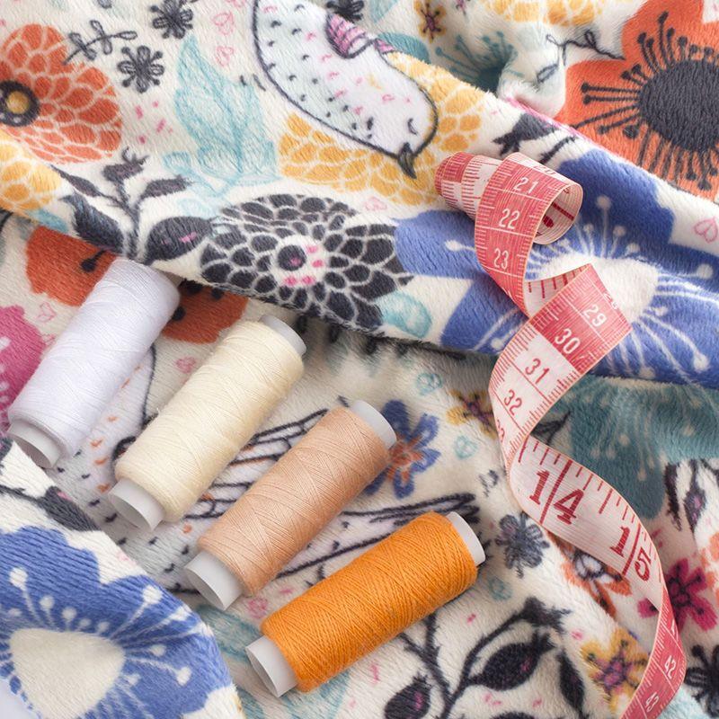 plush velvet fabric UK
