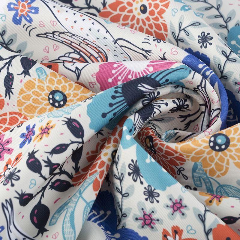 custom Poly Twill fabric samples