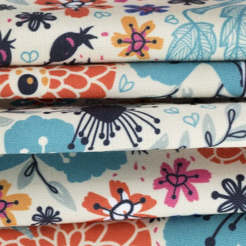 Portobello Canvas digital print fabric swatch