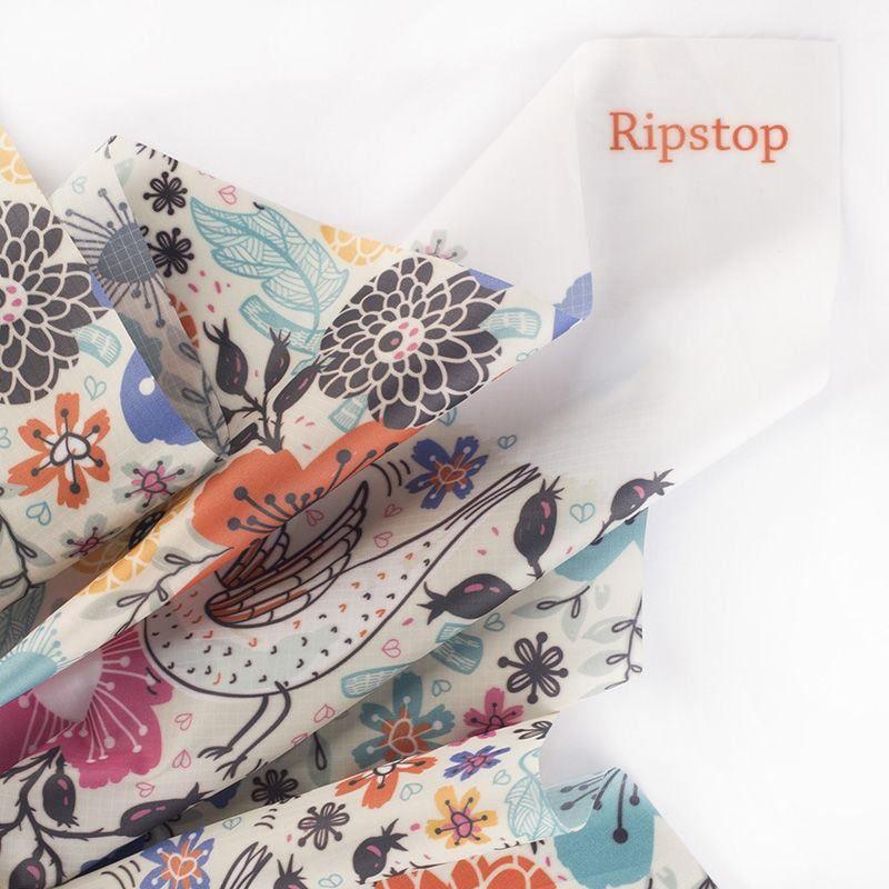 Ripstop digital print  water proof fabric