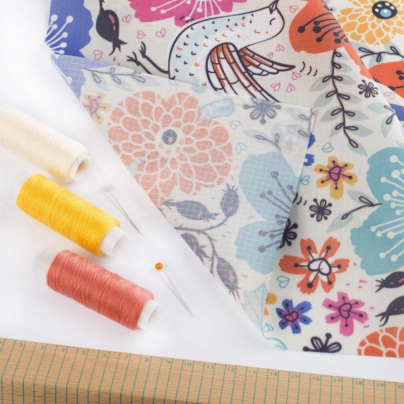 Digitaltryck på Ripstop textil