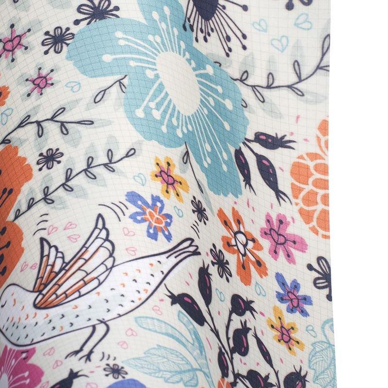 print Ripstop lightweight waterproof fabric