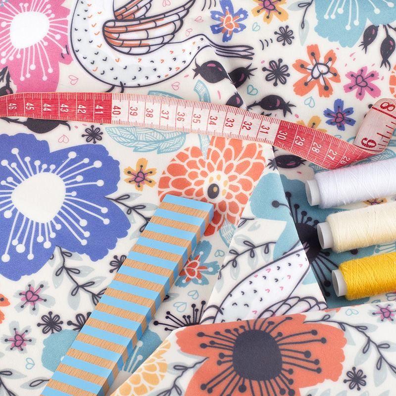 digital Scroll paper fabric printing