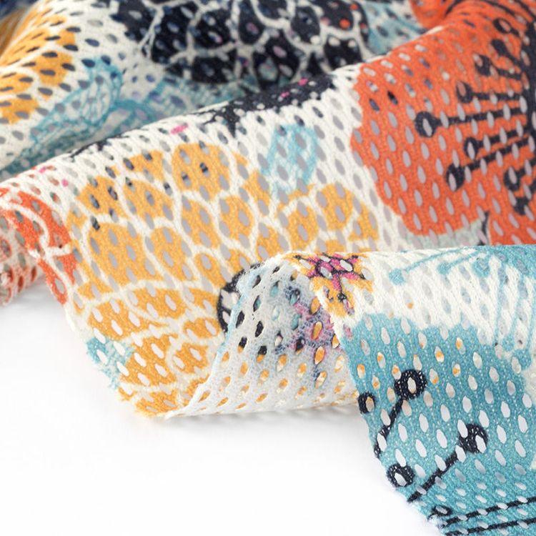 printed mesh fabric