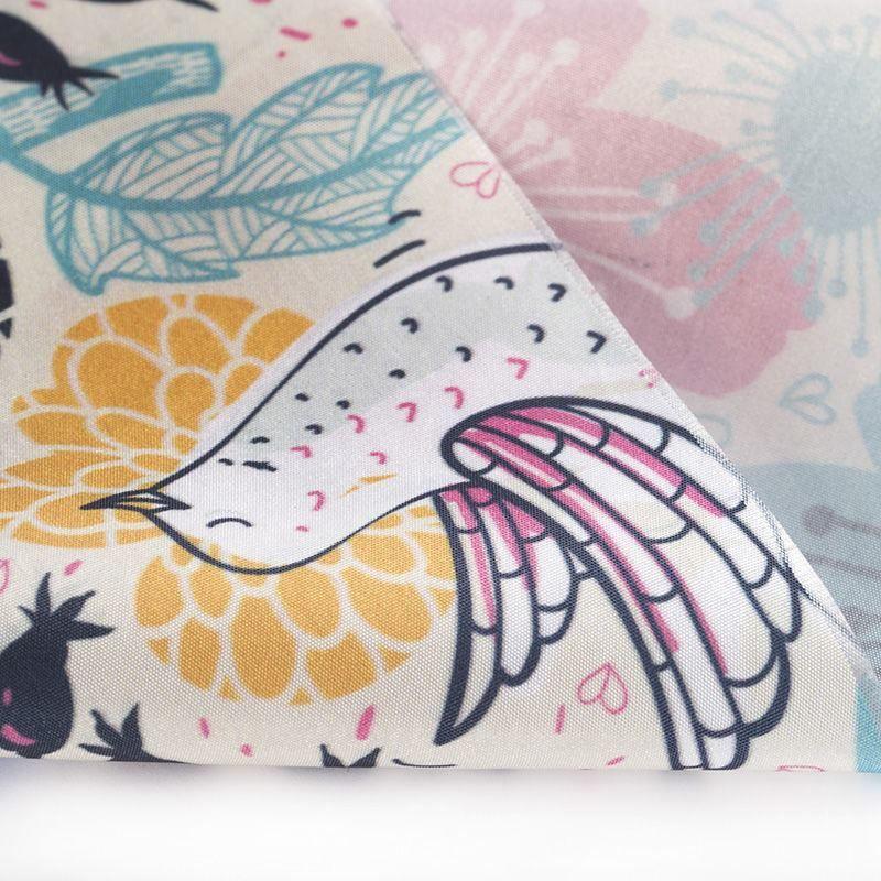 custom Taffeta fabric printing