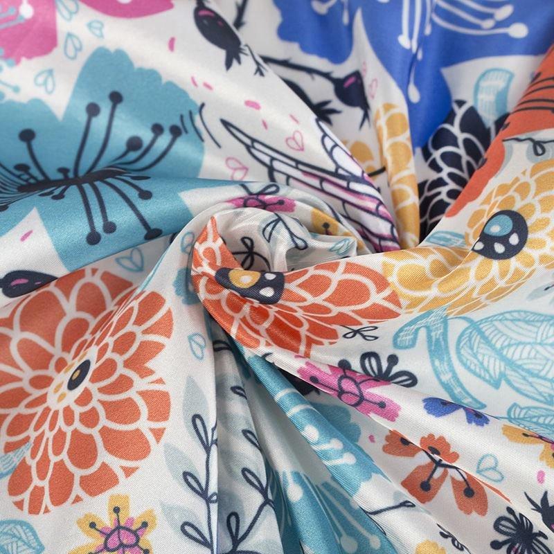 print Taffeta fabric pattern