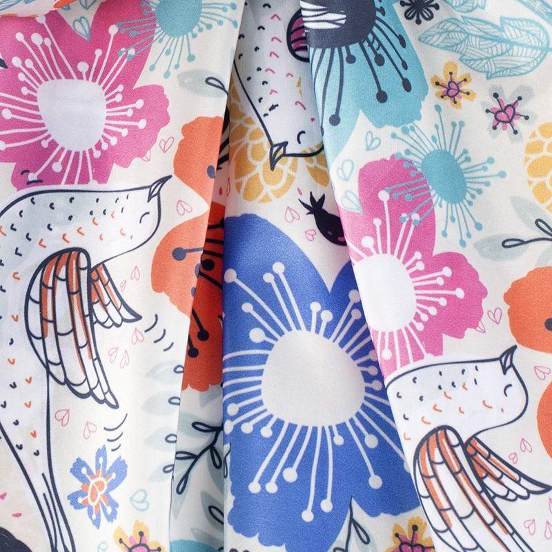 Taffeta Fabric Printing